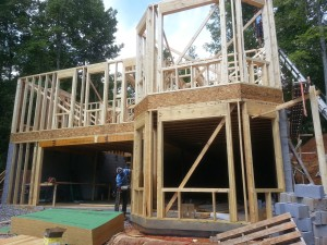 Madison custom home framing