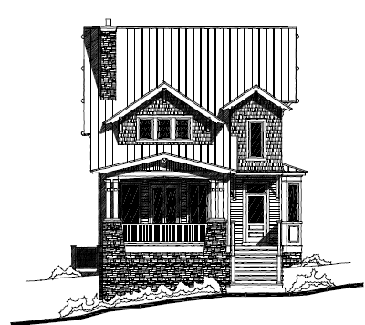 Cleary front elevation